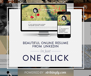 Strikingly LinkedIn Banner | How to Create Amazing Personal Websites in One Click