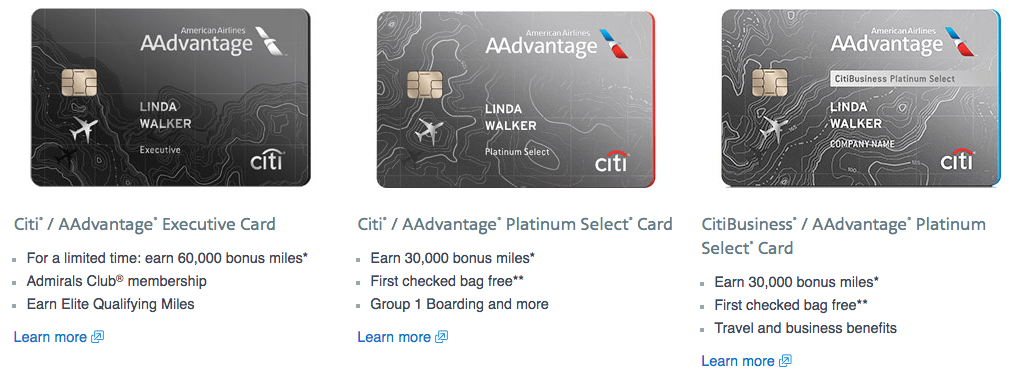 American Airlines Credit Cards