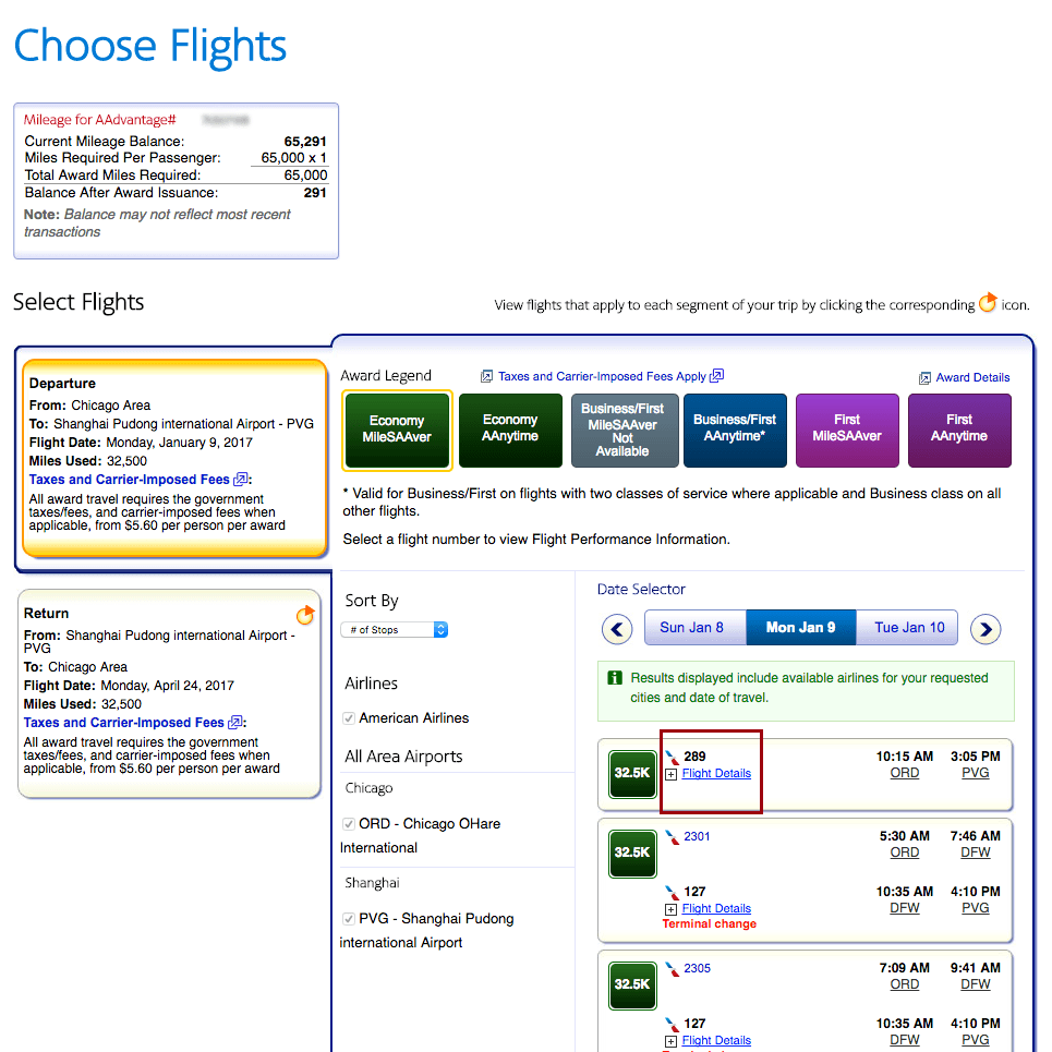 american-airlines-flight-number