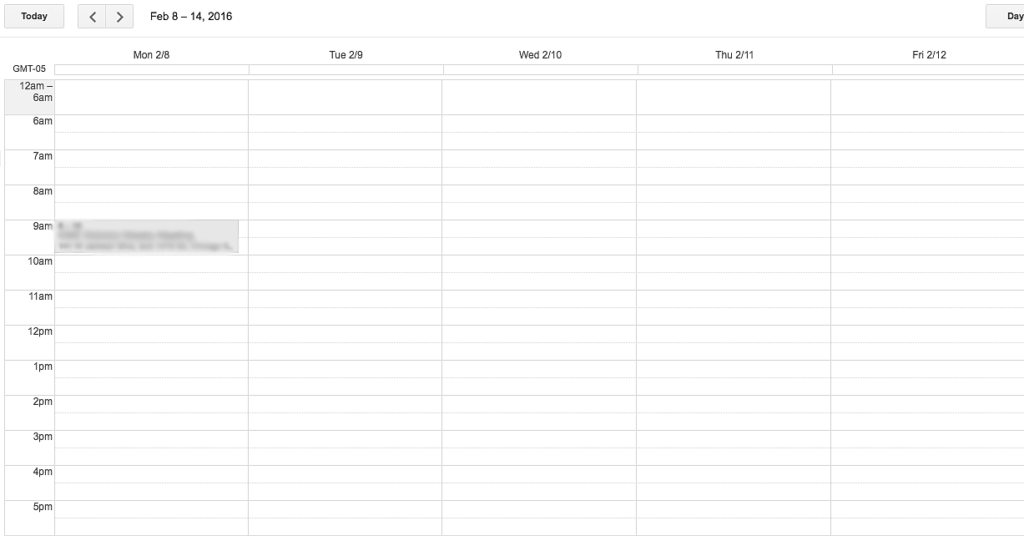 10 Important Things You Need to Know to Working for Yourself   Empty Google Calendar