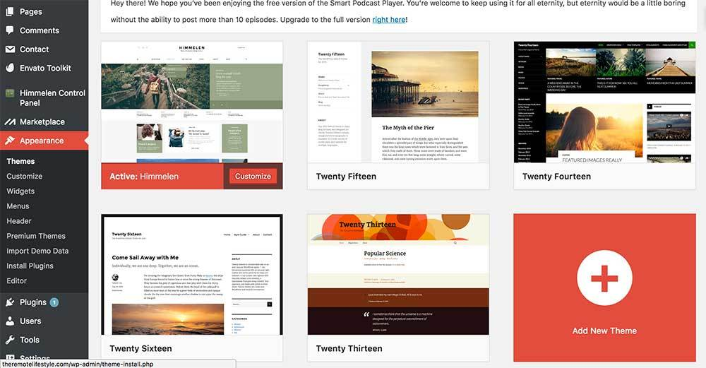 Adding Themes WordPress | How to Start a Successful WordPress Blog in 5 Minutes